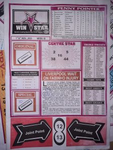 Week 18 Winstar 2020 Page 1