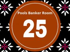 Pool Draw This Week 25; Banker Room 2020 – Sure Pool Banker Draw This Weekend