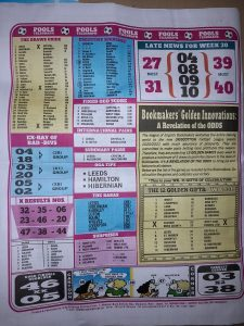 Week 31 Pools Telegraph 2021 Page 12