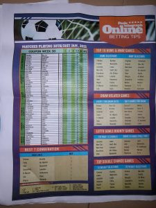 Week 31 Pools Telegraph 2021 Page 8