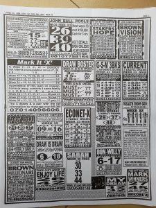 week 33 pools telegraph 2021 page 3