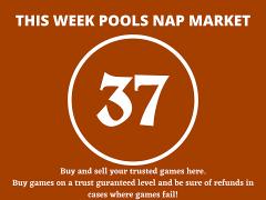 Week 37 Pool Nap Market 2021: Nap Draws Market This Weekend