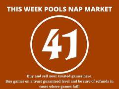 Week 41 Pool Nap Market 2021: Nap Draws Market This Weekend