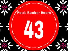 Pool Draw This Week 43; Pool Banker Room 2021 – Sure Pool Banker For This Week
