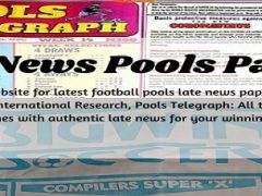 Week 43 Pool Late News Papers 2021: Bigwin Soccer, Pools Telegraph, Temple Of Draws