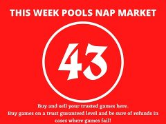 Week 43 Pool Nap Market 2021: Nap Draws Market This Weekend