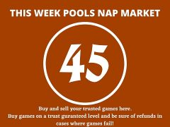 Week 45 Pool Nap Market 2021: Nap Draws Market This Weekend