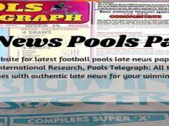 Week 1 Pool Late News Papers 2021: Bigwin Soccer, Pool Telegraph