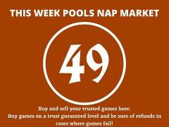 Week 49 Pool Nap Market 2021: Nap Draws Market This Weekend