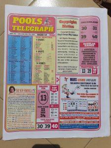 week 49 pools telegraph 2021 page 1