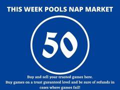 Week 50 Pool Nap Market 2021: Nap Draws Market This Weekend