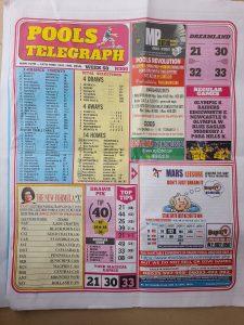 week 50 pools telegraph 2021 page 1