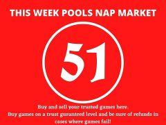 Week 51 Pool Nap Market 2021: Nap Draws Market This Weekend