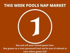 Week 1 Pool Nap Market 2021: Nap Draws Market This Weekend