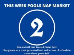 Week 2 Pool Nap Market 2021: Nap Draws Market This Weekend
