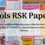 Week 3 Pool RSK Papers 2021: Bob Morton, Capital Intl, Soccer X Research, Winstar, BigWin