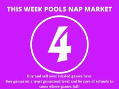 Week 4 Pool Nap Market 2021: Nap Draws Market This Weekend