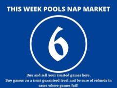 Week 6 Pool Nap Market 2021: Nap Draws Market This Weekend