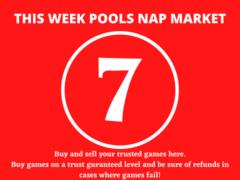 Week 7 Pool Nap Market 2021: Nap Draws Market This Weekend