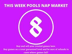 Week 8 Pool Nap Market 2021: Nap Draws Market This Weekend