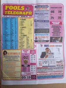 week 8 pools telegraph 2021 page 1