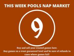 Week 9 Pool Nap Market 2021: Nap Draws Market This Weekend