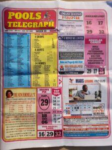 week 13 pool telegraph 2021 page 1