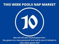 Week 10 Pool Nap Market 2021: Nap Draws Market This Weekend