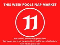 Week 11 Pool Nap Market 2021: Nap Draws Market This Weekend