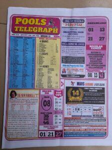 week 11 pool telegraph 2021 page 1