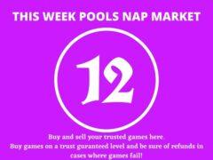 Week 12 Pool Nap Market 2021: Nap Draws Market This Weekend