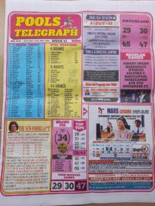 week 12 pool telegraph page 1