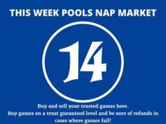 Week 14 Pool Nap Market 2021: Nap Draws Market This Weekend