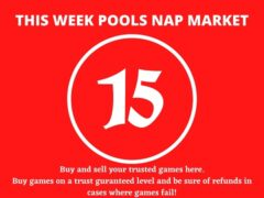 Week 15 Pool Nap Market 2021: Nap Draws Market This Weekend