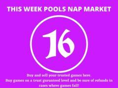 Week 16 Pool Nap Market 2021: Nap Draws Market This Weekend