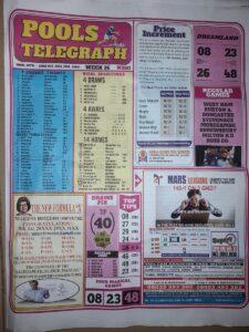 week 16 pool telegraph 2021 page 1